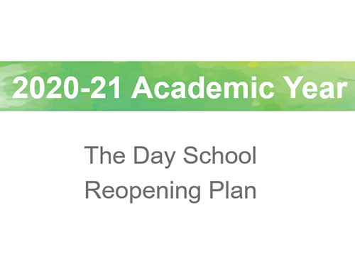 2020-21 School Year COVID-19 Reopening Plan