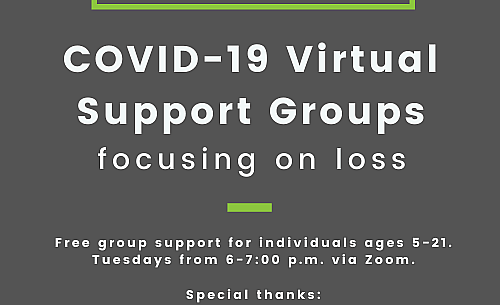 COVID-19 Virtual Loss Support Groups