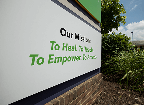 Our Mission: To Heal. To Teach. To Empower. To Amaze.
